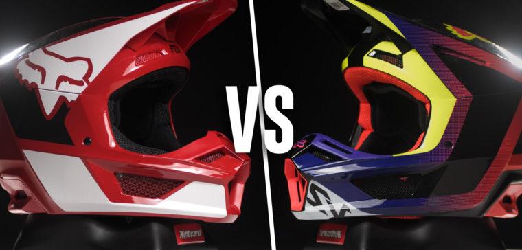 Comparamos los nuevos cascos Fox de motocross 2021