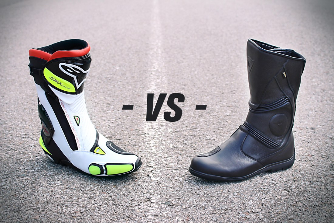 48d0247a Motorcycle boots: sport or touring? · Motocard