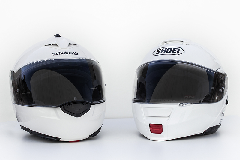comparative convertible helmets shoei neotec vs schuberth. Black Bedroom Furniture Sets. Home Design Ideas