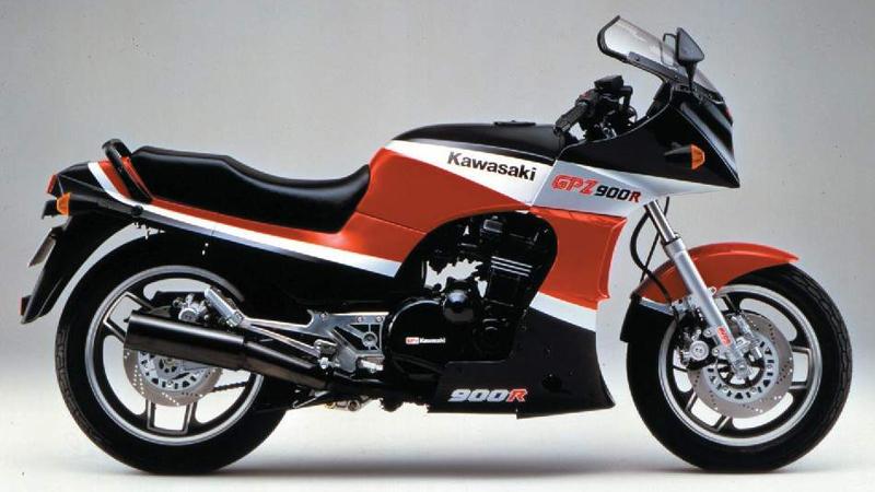 1984 Kawasaki GPZ 900 R