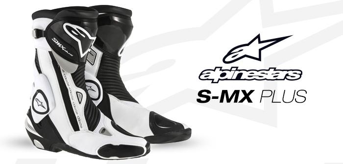 Alpinestars S-MX Plus, para carretera y circuito