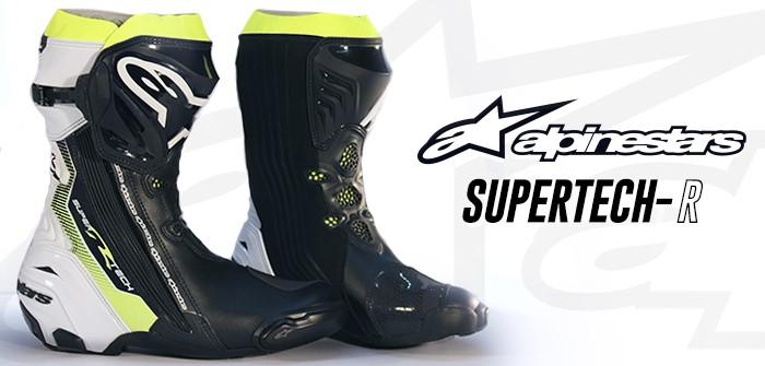 Alpinestars Supertech-R, forjadas en la pista