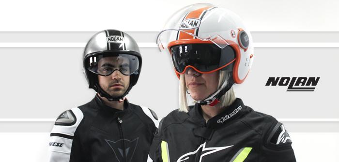 0edd97b1 Review: Nolan N21 and N21 Visor, modern open face helmet, old school look ·  Motocard