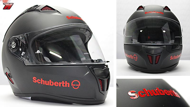 Que nadie se engañe  este casco está a la altura de los deportivos más  Premium del mercado con toda la calidad que ofrece Schuberth. f98931ead81