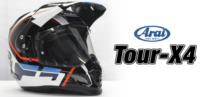 Arai Tour-X 4, polyvalence with adventure spirit