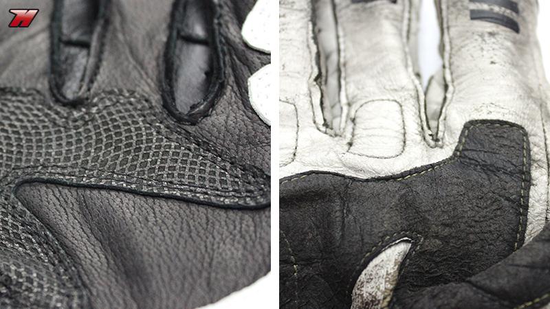 cuidado guantes moto