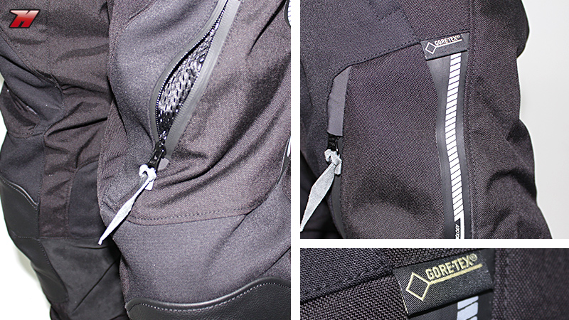 Review Gore Tex Touring Garment Dainese Stradon D1 And