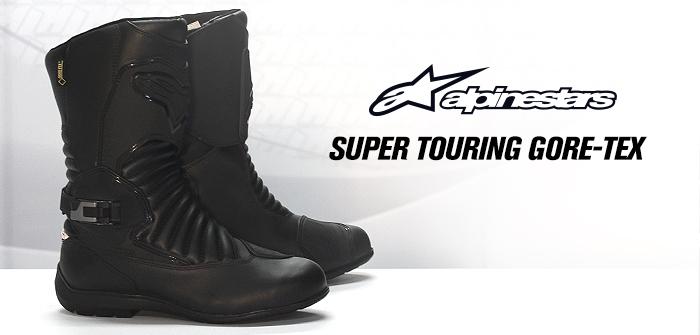 Alpinestars Super Touring Gore-Tex, premium touring