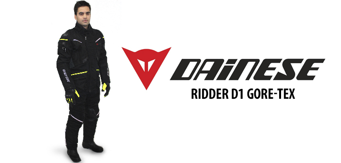 Dainese Ridder D1 Gore-Tex jacket and pants touring outfit