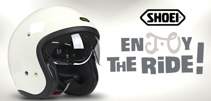 Shoei J-O, classic style and Japanese tech