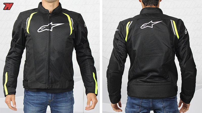 Chaqueta de motociclista Alpinestars AST Air Jacket