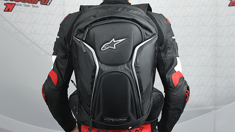 Review  Alpinestars Tech Aero, a must have backpack · Motocard e0ac83afec