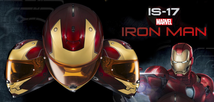 HJC IS-17 Iron Man