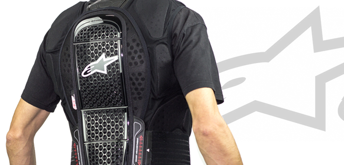Alpinestars Track Vest 2, all in one protection