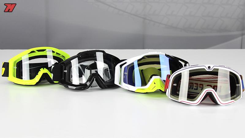 100% off-road goggles