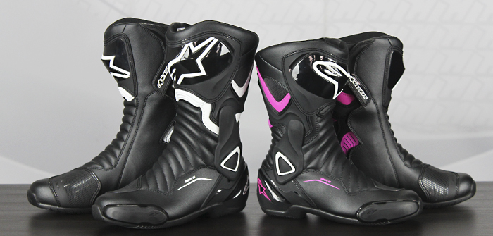 Alpinestars S-MX 6 V2 and S-MX V2 Lady boots