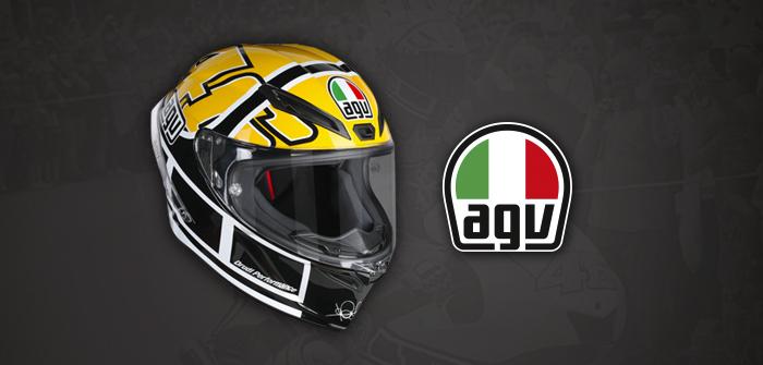 Casco AGV Corsa R Rossi Goodwood