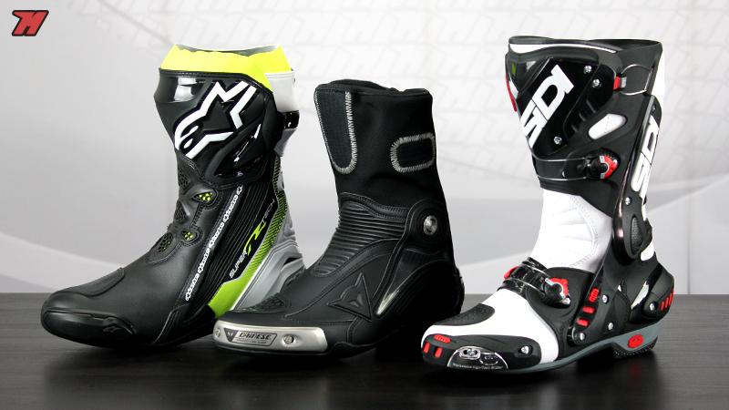 Comparativa botas racing