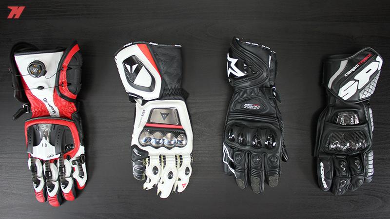 comparativa guantes racing
