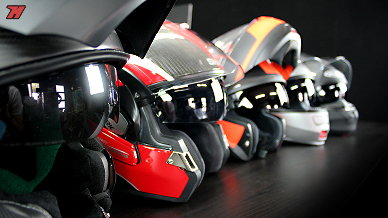 modular fiber helmets