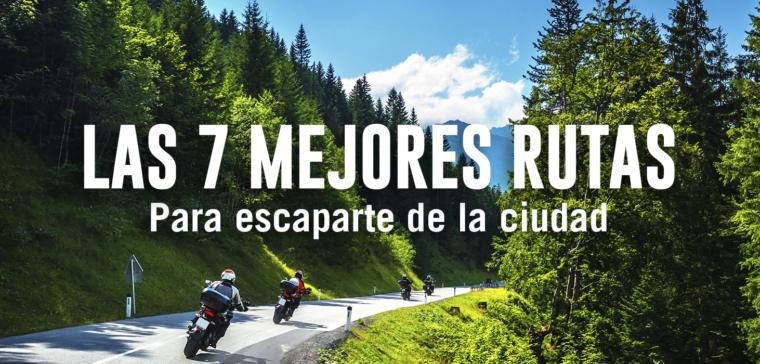 Estas son las 7 mejores rutas en moto y poco conocidas.