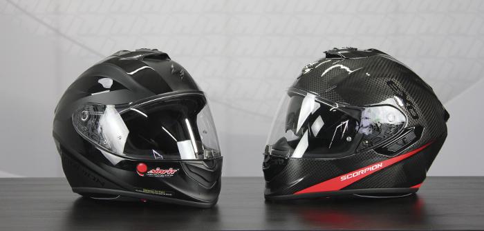 Scorpion Exo-1400 Air y Exo-1400 Carbon Air