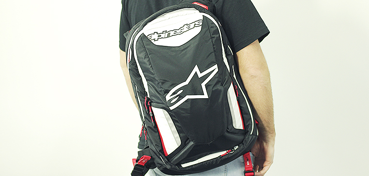 Sac à dos Alpinestars City Hunter pour sortir en moto
