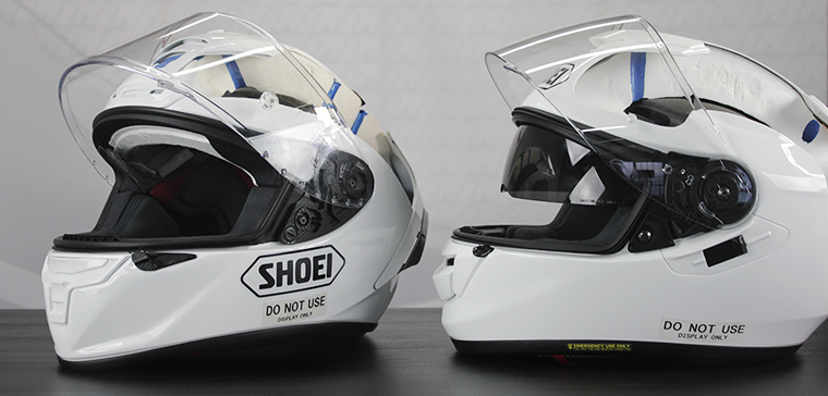 Cascos racing vs cascos sport-touring