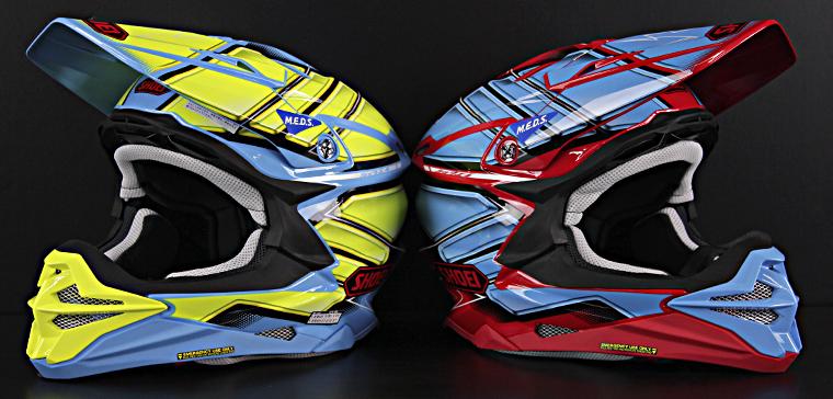 Casque motocross pour les plus aventuriers : le Shoei VFX-WR