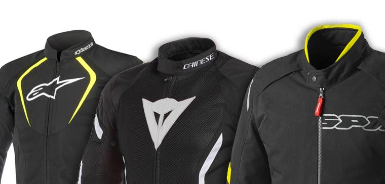 chaqueta de moto ventilada