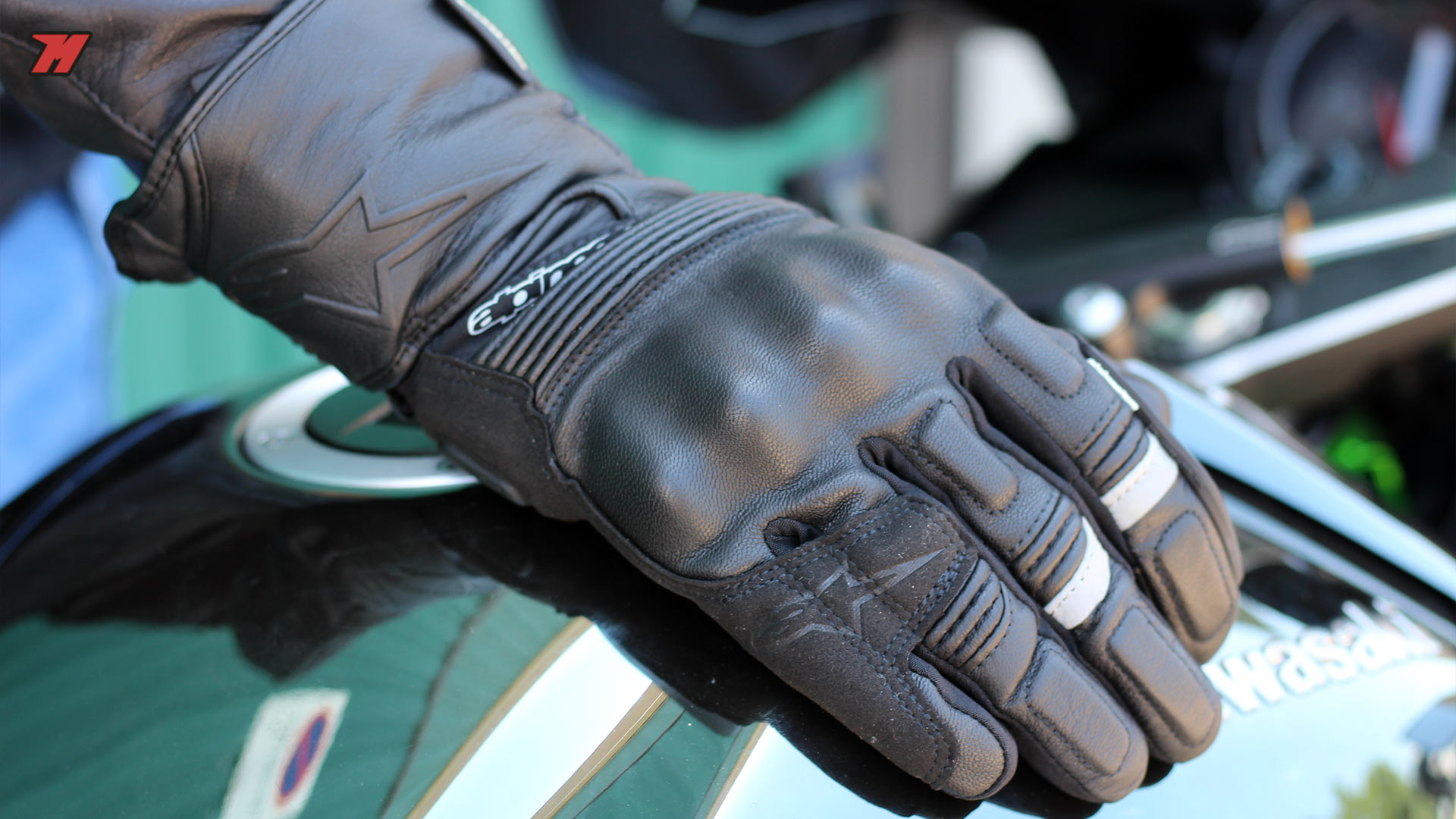 e88dfb82 Alpinestars Patron Gore-Tex Gore-Grip. Alpinestars motorcycle gloves