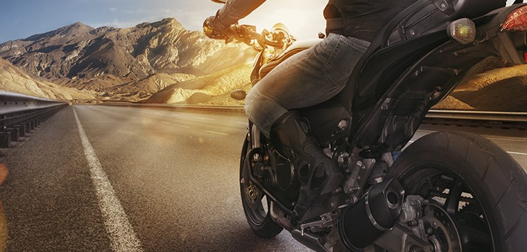 The keys to combat heat on a motorcycle