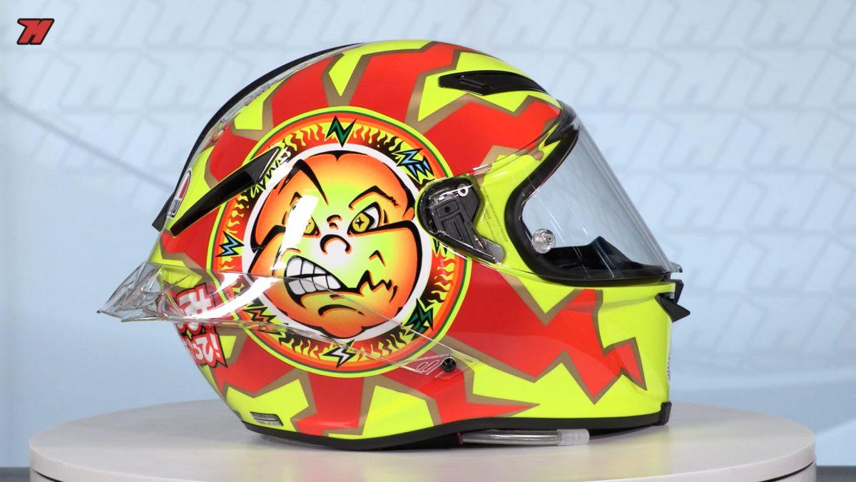primer casco Rossi