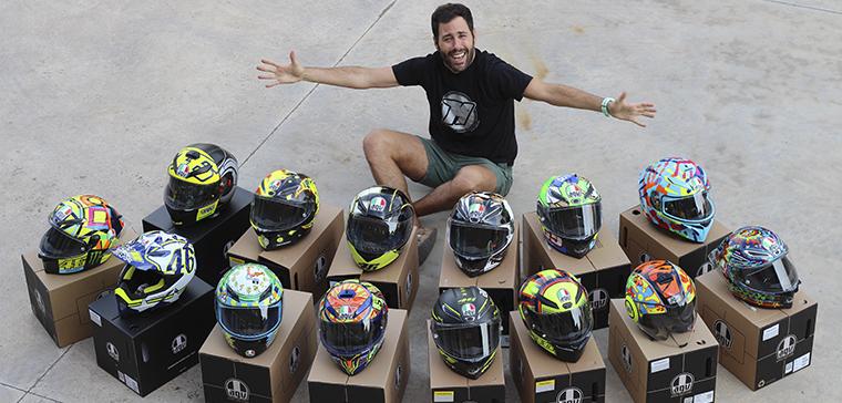 cascos Rossi