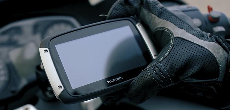 TomTom Rider 550, el GPS para tus viajes en moto