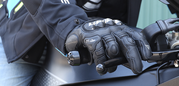 Dainese 4 Stroke Evo, short-sleeve gloves with quality protections