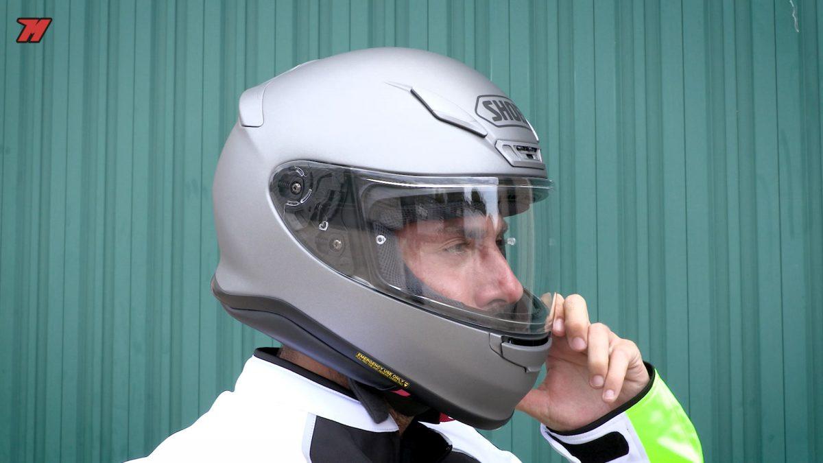 El Shoei NXR es uno de los cascos de este listado