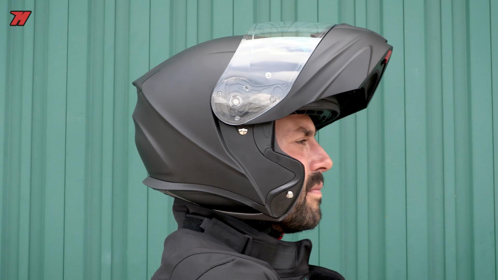 Taille XL SCORPION Casque Motocorpion BELFAST LUXE Noir