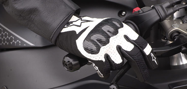 Guantes Alpinestars SMX-1 Air V2, ideales para moverte por ciudad