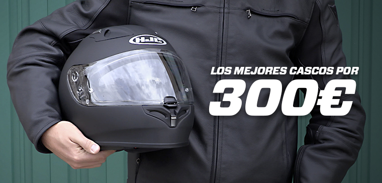 motorcycle helmets under 300 euros