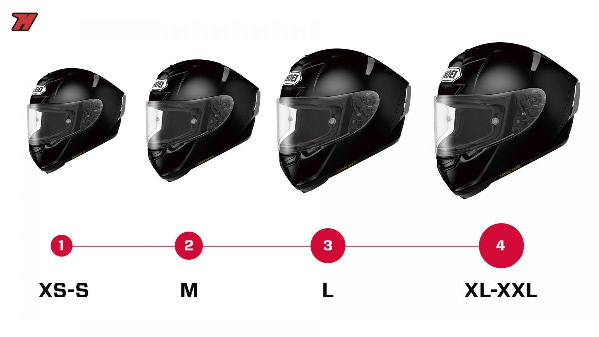 Acertar con tu talla de casco de moto adecuada es primordial para tu seguridad