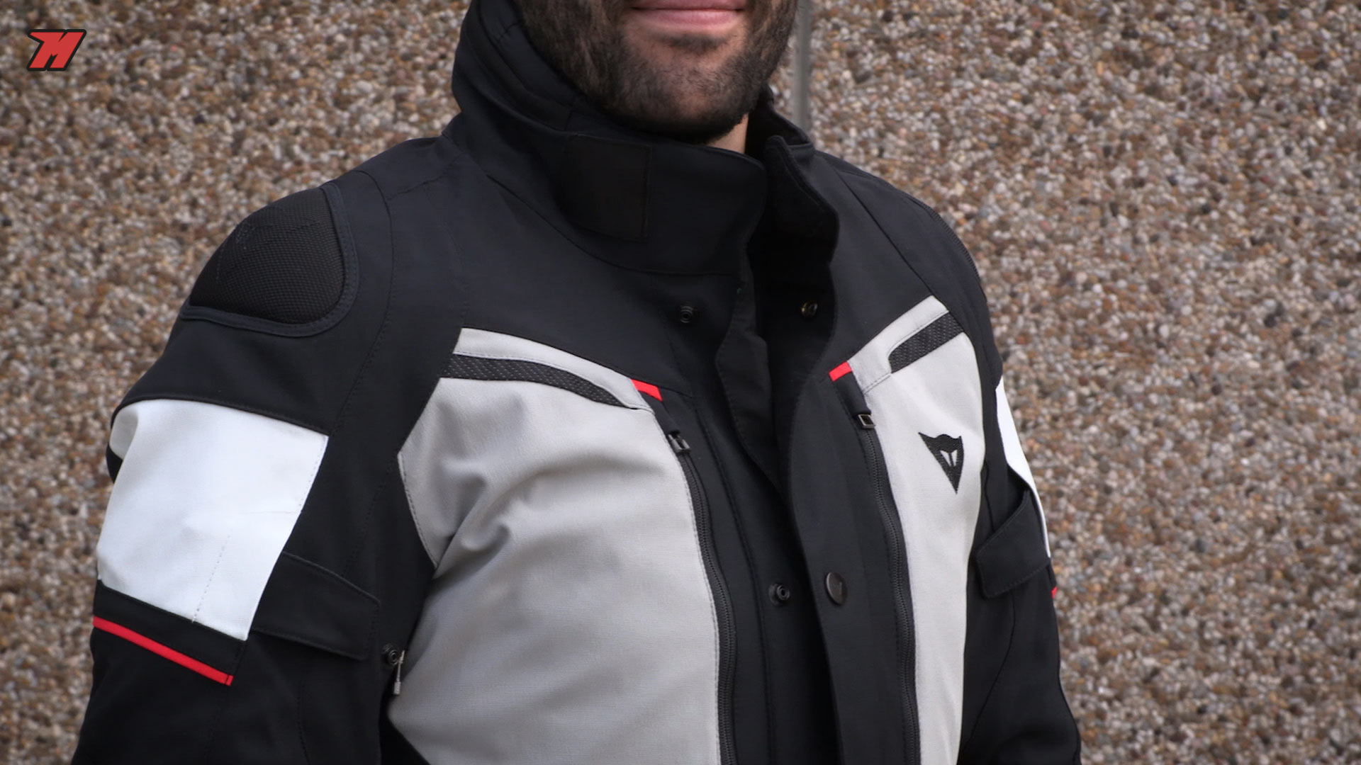 Fluo Yellow Moto Motorcycle Waterproof JacketAll Sizes Held 4-Touring Black