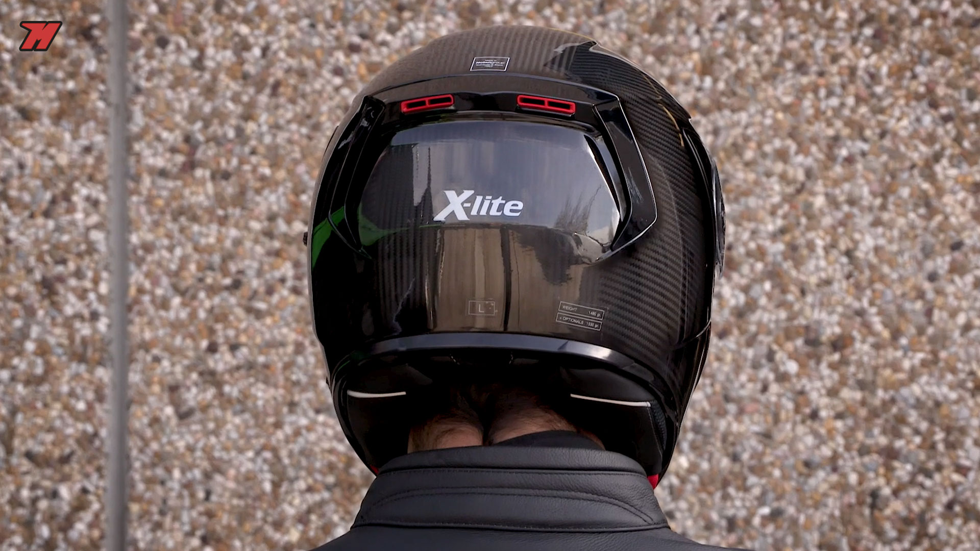 x lite x 903 ultra carbon the new high end nolan full face helmet motocard. Black Bedroom Furniture Sets. Home Design Ideas