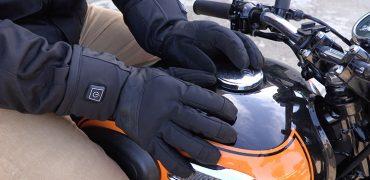 gants chauffants moto pas cher