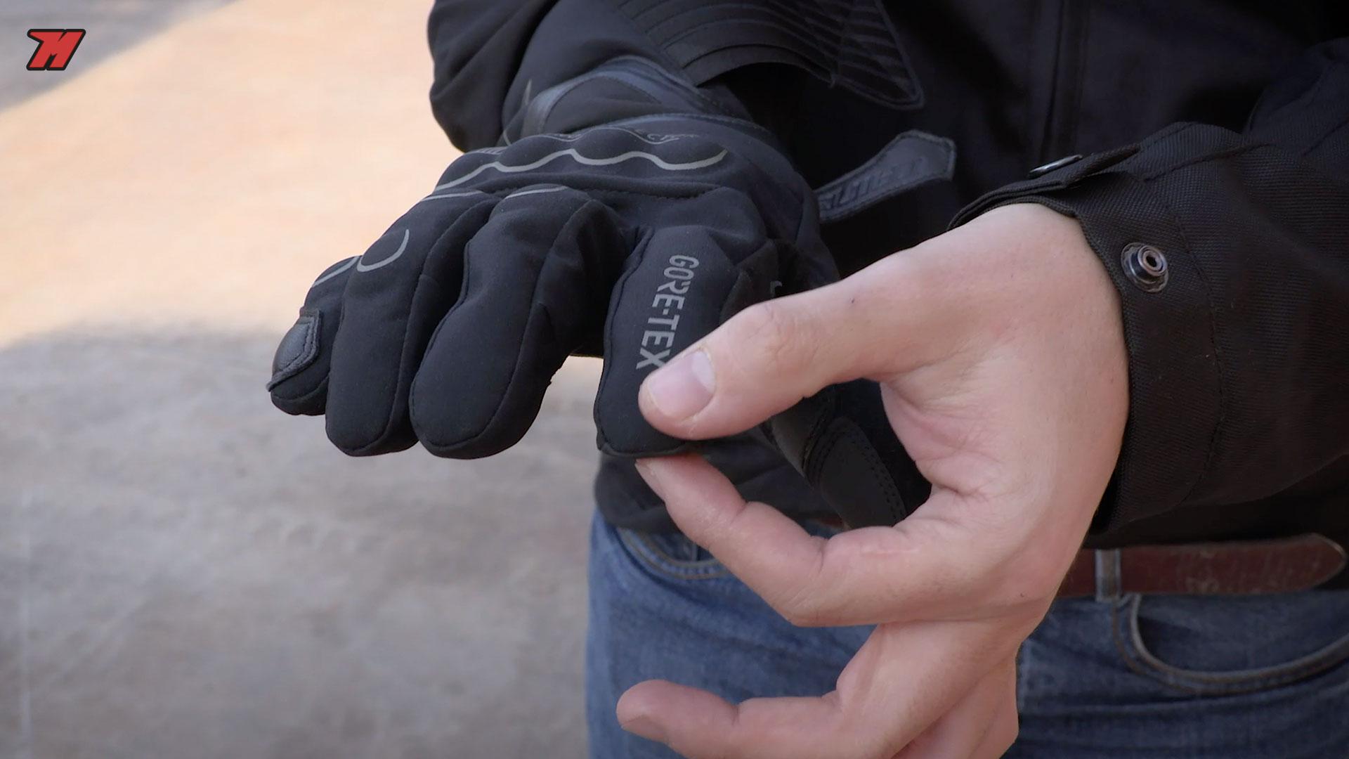 gants moto dainese doigt