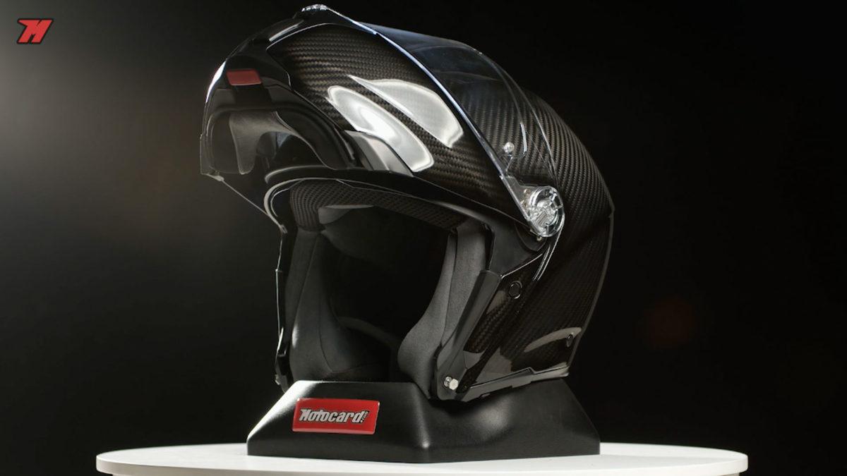 El casco AGV Sportmodular es el más deportivo de todos