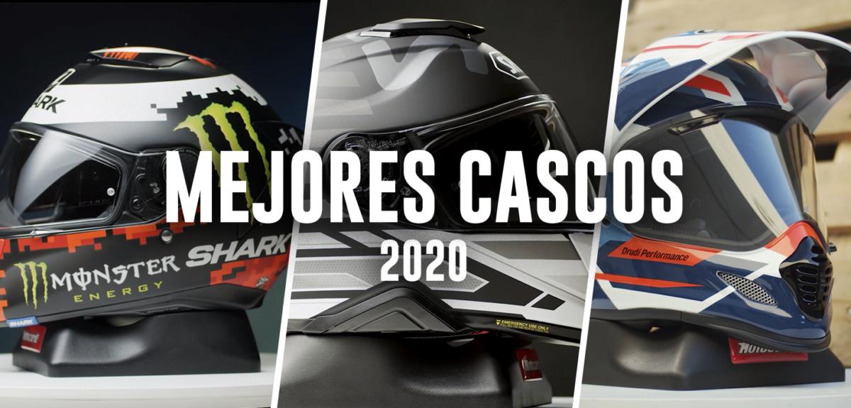 Los mejores cascos de moto de 2020