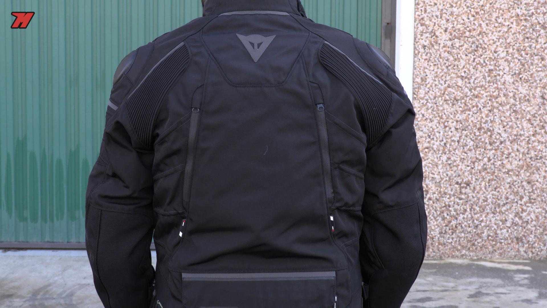 chaqueta de moto de invierno