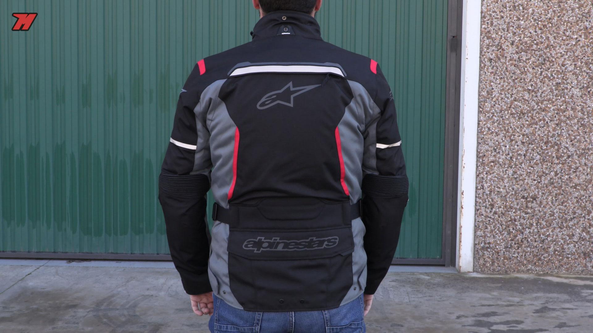 talla chaqueta de moto