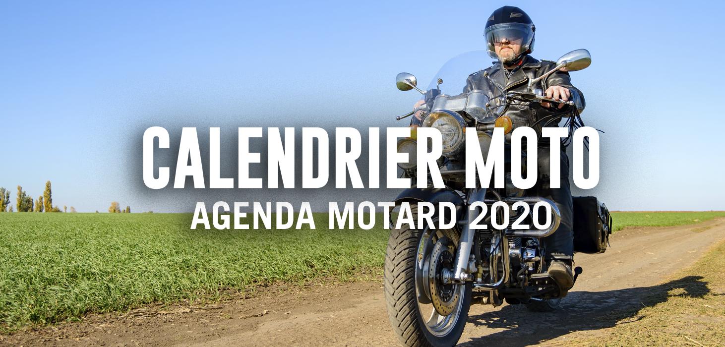 Calendrier Bourse Moto 2021 Calendrier Moto 2020, Rassemblement Moto : les dates à retenir